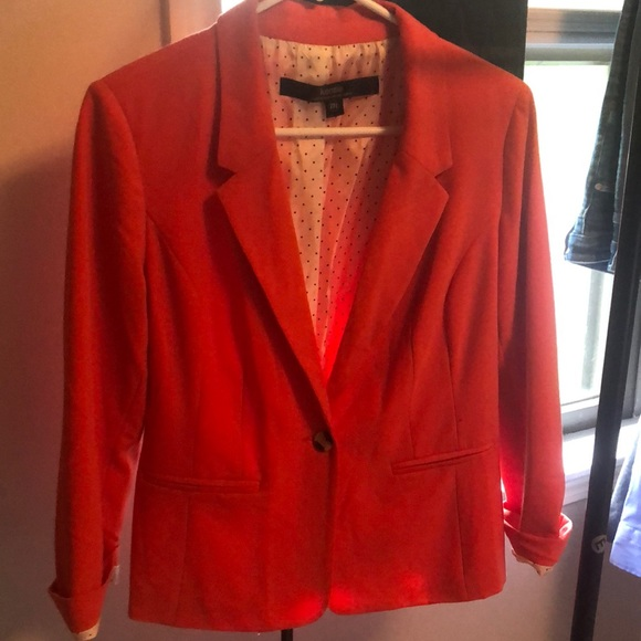 Kenzie three quarter sleeve blazer size medium
